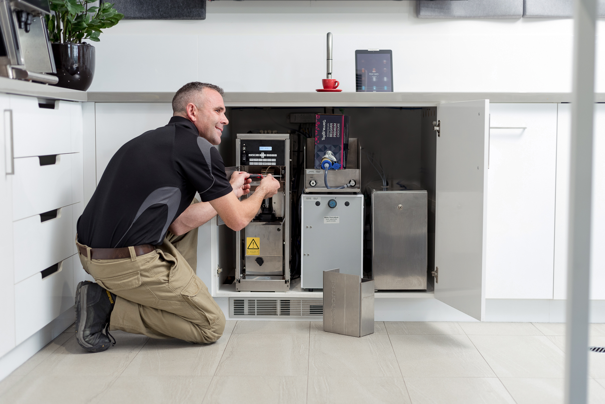 TopBrewer Australia delivers servicing in Australia by local technicians from Brewhub